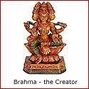 Brahma - the Creator Amongst the Hindu Trinity