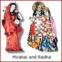 Mirabai and Radha : The twin souls of Krishna