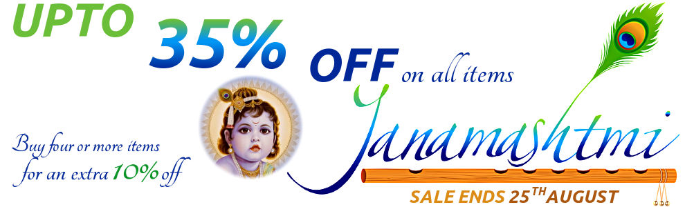 Janmashtami Sale - Upto 35% Off