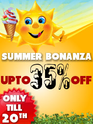 Summer Bonanza Sale - Upto 35% off
