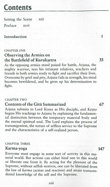 an analysis of the bhagavad gita The bhagavad gita chapter-9 raja yoga (summary) in this chapter krishna declares to arjun the most secret knowledge that is known only by direct experience he calls this knowledge, not just secret (guhya),.