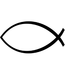 Ichthus - Courtesy, http://en.wikipedia.org/wiki/File:Ichthus.svg