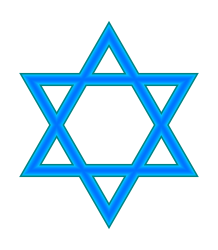 Star of David - Courtesy, http://en.wikipedia.org/wiki/File:Star_of_David_3.svg