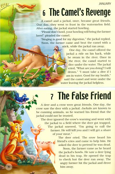 panchatantra stories Panchatantra uses metaphors and substitutes to tell a storythe use of animals, who talk, think and act like humans is a clever play to relate the acts and nature of humans to that of animals.